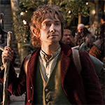 Bilbo Baggins as portrayed by Martin Freeman in the Hobbit: An Unexpected Journey.
