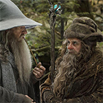 Radagast played by  Sylvester McCoy in Peter Jackson's Hobbit movies.