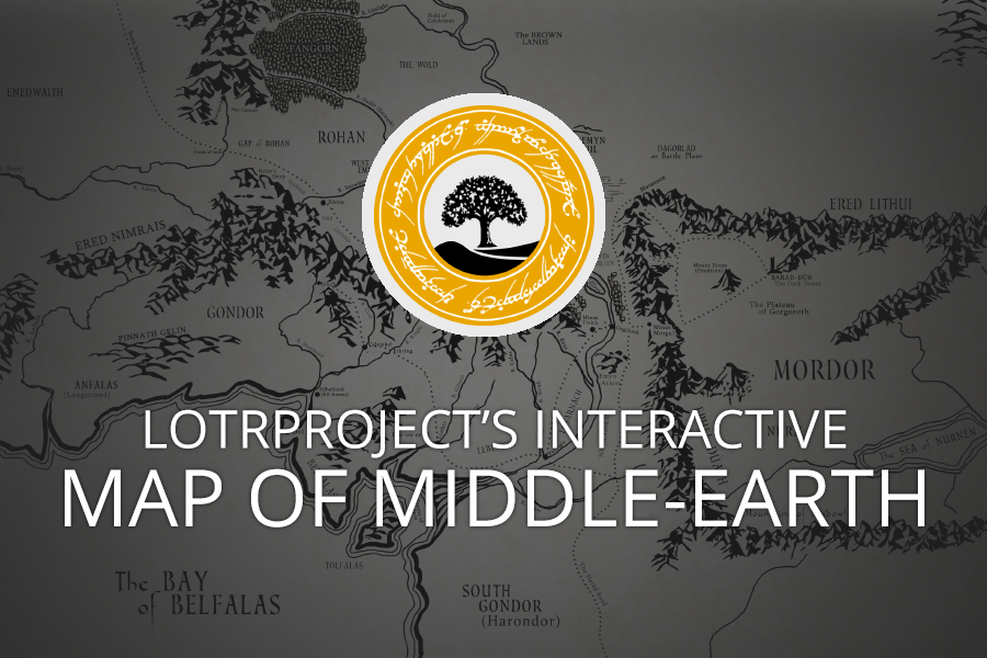 Interactive Map of MiddleEarth LotrProject – 3d Map of Middle Earth