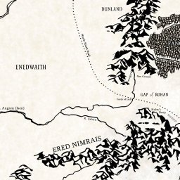 Interactive map of middle earth lotrproject gumiabroncs