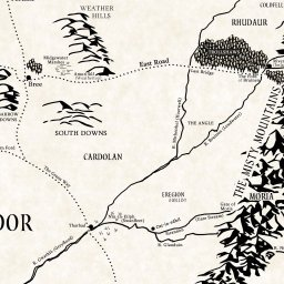 interactive map of middle earth lotrproject