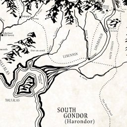 Interactive map of middle earth lotrproject get the app gumiabroncs Gallery